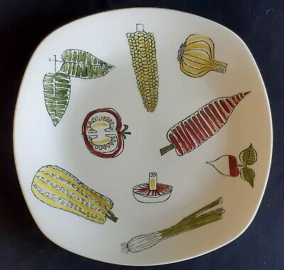 Midwinter Dinner Plate SALADWARE By Terence Conran 1950s  • 35£