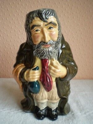 Roy Kirkham Pottery - Toby Jug - 'Fagin' From Oliver Twist - Made In England • 20£