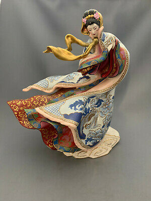 Franklin Mint Empress Of The Snow Limited Edition Large Oriental Lady Figurine. • 175£