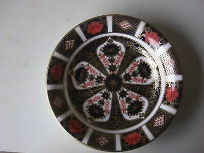 ROYAL CROWN DERBY DISH (160mm ACROSS) • 6£