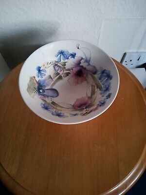 William Moorcroft Potter To The Queen Signed Orchid Bowl. Poor Condition A/f  • 49.95£