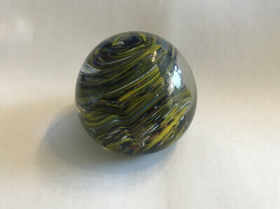 Vintage Glass  Paperweight Believed To Be By Adrian Sankey Of Ambleside. • 9.95£