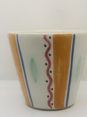 Buchan Stoneware Pottery Scottish Vintage Ceramic Planter • 4.99£