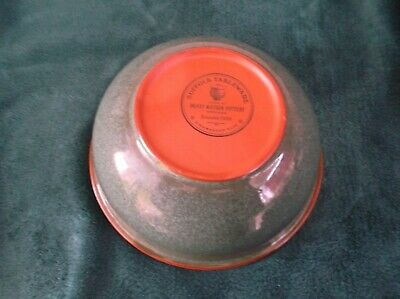 Suffolk Tableware Henry Watson Pottery Serving Bowl Good Condition • 15£