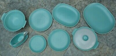 Poole Dinner Ware / Twintone -  8 Pieces • 30£