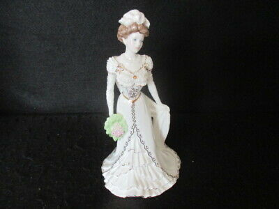 Coalport Figurine Golden Age 'charlotte A Royal Debut' Limited Edition 1st • 39.50£
