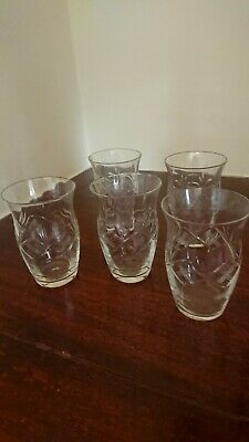 Vintage Glass Tumblers From 1930s • 10£