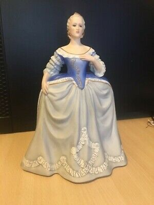 Franklin Porcelain Catherine The Great Figurine With Certificate Used • 12£
