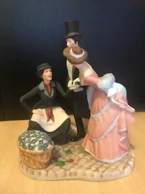 Franklin Porcelain Covent Garden Figurine Used  • 12£