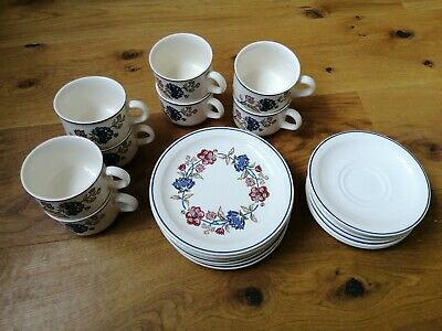 Set Of Boots Camargue Tea Cups, Saucers And Side Plates • 34£