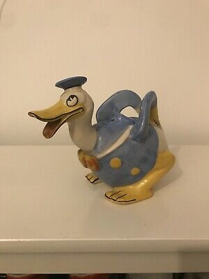Wade Heath Donald Duck Teapot. • 280£