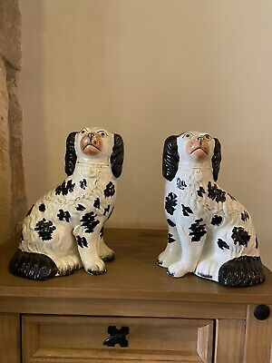 Pair Of Staffordshire Dogs • 300£