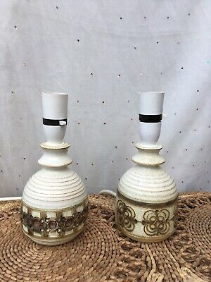 Pair Of Jersey Pottery Table Lamps • 25.11£