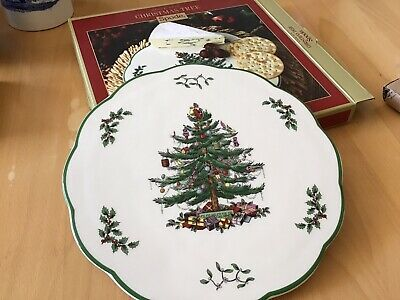 Spode Christmas Tree Cheese Plate • 21£