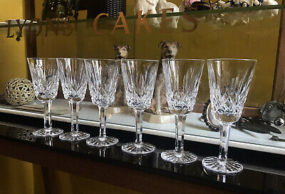 Set Of 6 Waterford Crystal 'Lismore' Pattern Sherry Glasses • 49£
