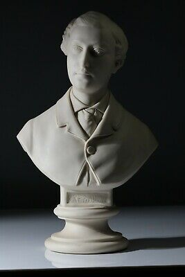 ANTIQUE 19THC JOHN ROSE PARIAN BUST OF Edward, Prince Of Wales C1863 • 299£