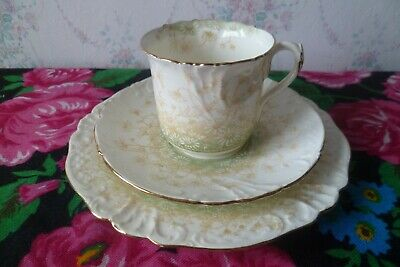 Vintage / Antique Foley Wileman China Trio Tea Cup Saucer Plate Daisy's 6803  • 12£