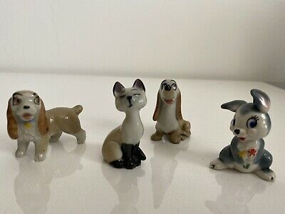 Wade Disney Lady & The Tramp Good Condition (Lady, Am, Dachsie & Thumper) • 12£