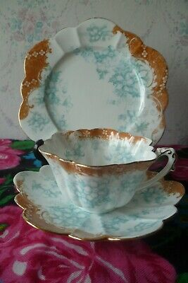 Vintage / Antique Wileman China Trio Tea Cup Saucer Plate Empire Shape 9108 8106 • 10.50£