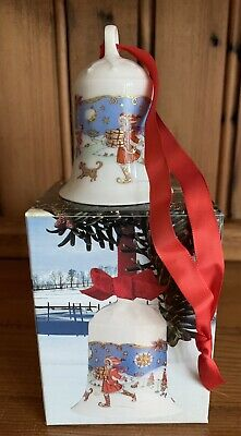 Hutschenreuther Christmas Bell 1990 BOXED Collectors • 15£