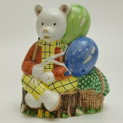 Rupert The Bear Porcelain Figurine Collectable Ornamental Retro Cartoon 273120 • 4.99£