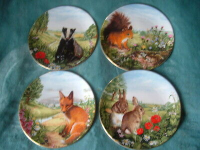 Royal Doulton Country Wildlife Collection  4 X Display Plates  • 14.99£