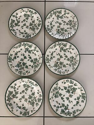 """Vintage Country Vine  6 X 10"""" Dinner Plates By  BHS • 17.99£"""