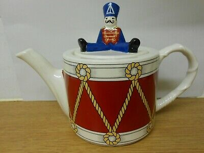 Wade  Drummer Boy  Teapot  Designed By Judith Wootton Made Exclusively For Boots • 9.99£