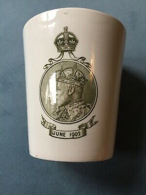 1902 King Edward Coronation Comemorative Cup. • 9.50£
