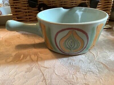 Buchan Stoneware Hand Painted Large Ovenproof Pan Riviera Design  • 5£