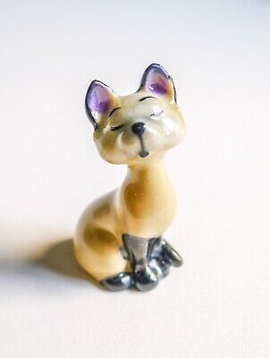 Wade Disney Whimsy Siamese Cat Am From Lady And The Tramp - 1960's • 4.10£