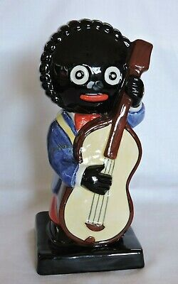 Large Robertsons Carlton Ware Bandsmen Double Bass Player. • 75£