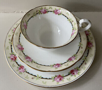 Vintage Aynsley A3852 Tea Cups And Saucers / Sideplates • 99.99£