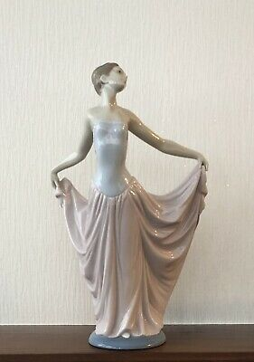 Lladro The Dancer 12 Inch  Figure 5050 Retired Immaculate Condition • 51£