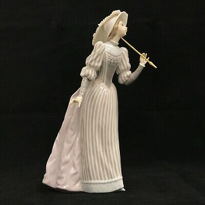 Lladro Engish Lady With Parasol No 5324 Rare 10in Porcelain Figurine 281685 • 7.50£