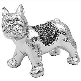 Millie Crystal French Bulldog, Ornament, Bling!!  Free P&p  • 17.99£