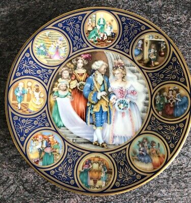 The Cinderella Plate By Pauline Ellison 1978 Franklin Mint Limoges Porcelain  • 7.99£