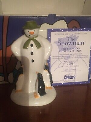 Coalport Snowman - The Snowman With His Friends - Limited Edition • 12£