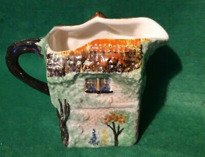 Decorative Cottage And Trees Milk Jug • 5£
