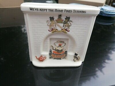 Swan China We've Kept The Home Fires Burning Fireplace • 4.99£