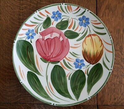 Wade Plate Dish Floral Tulips Flowers Hand Painted Pottery CAPRI Royal Victoria  • 8.80£
