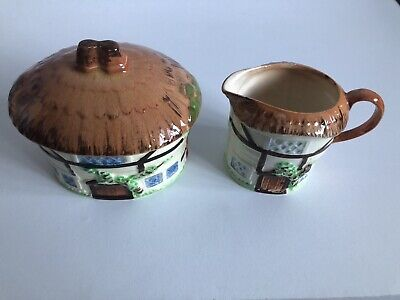 Vintage Cottage Design Jam Jar/ Honey Pot And Milk Jug Set  • 7£