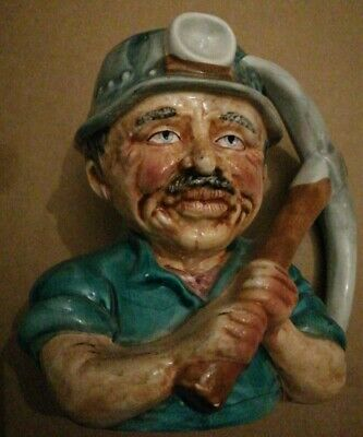 Miner Toby Jug Rare Collectable • 15£