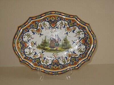Faience Decorative Hanging Plate • 15.50£