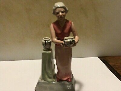 "Charlotte Rhead - Ceramic Figure, One Of The ""Pottery Ladies"" Series • 9.99£"