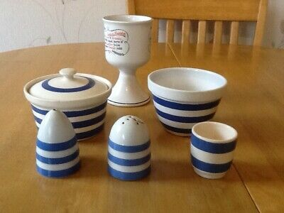 T G Green And Cornishware Style Pottery • 16£