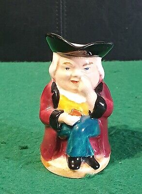 Vintage Staffordshire Ceramic Toby / Character Jug Comical Style • 8£