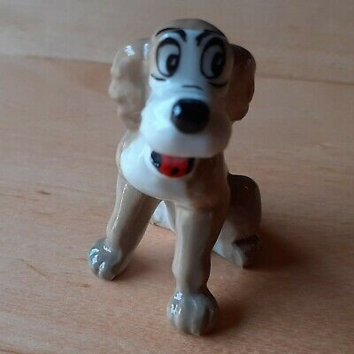 RARE Disney TOUGHY THE DOG From Wade 1950s/60s Hat Box Series Lady And The Tramp • 13£