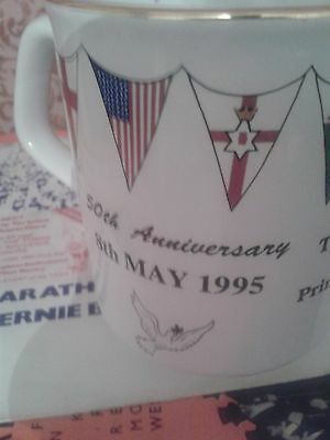 Lonsdale C.of E. Primary School 50th Anniversary Of VE Day Commemorative Mug • 12£