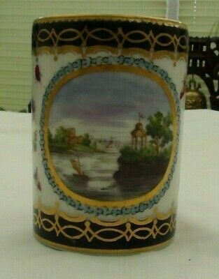 Worcester (First Period)  Dalhousie Type Hand Painted Mug 1755-1770  • 64.99£